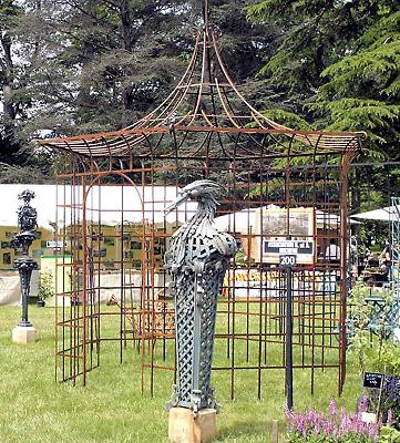 Décorer son jardin avec de la ferronnerie d'art