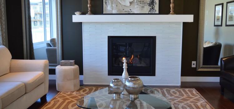 Quelques idées déco pour un salon avec cheminée