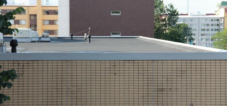 L'étanchéité d'une toiture plate en neuf