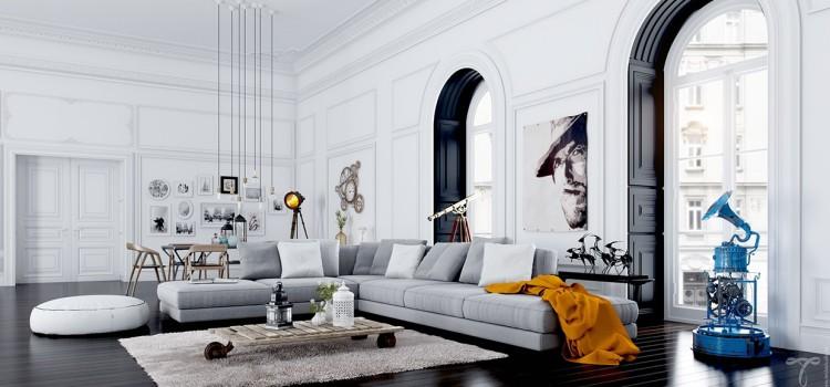 Utiliser une moulure polyuréthane comme décoration de plafond